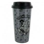 Copo Viagem Hogwarts Harry Potter