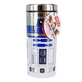 Copo Viagem Star Wars R2D2