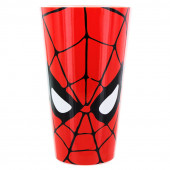 Copo Vidro Spiderman