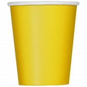 Copos Festa Amarelo 14 unid