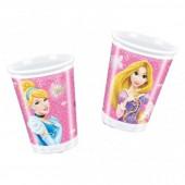 Copos Festas Princesas Disney Glamour 8 unid