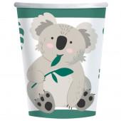 Copos Koala 23cm - 8 und