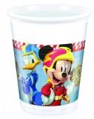 Copos Mickey Super Pilotos - 8 Und