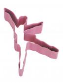 Cortador de bolachas Bailarina Rosa