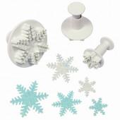 Cortadores Flocos de Neve com Ejetor PME 3 unid