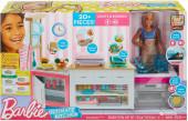 Cozinha Deluxe Barbie com Boneca