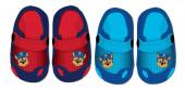 Crocs azuis e vermelhos Patrulha Pata