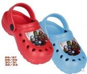 Crocs borracha Avengers