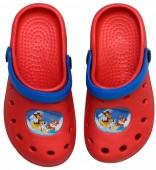 Crocs Patrulha Pata  - Vermelhas