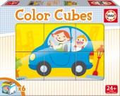 Cubos Coloridos Veiculos