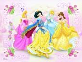 Cubos Princesas Disney, 6 puzzles