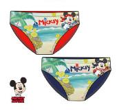 Cueca Banho Mickey Pirata Bebé Sortido
