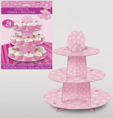 Cupcakes Stand Rosa