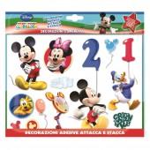 Decoração 3D com autocolantes Mickey Mouse
