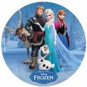 Decoração Bolo Frozen 20cm