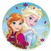 Decoração Bolo Frozen Sisters 20cm