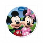 Decoração Bolo Mickey e Minnie 20cm