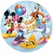 Decoração de bolo Aniversário Mickey Mouse & Amigos