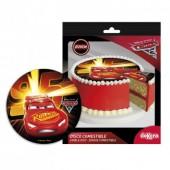 Decoração de bolo de Aniversário Disney Cars 3