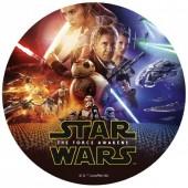 Decoração de bolo de Aniversário Disney Star Wars