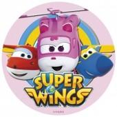 Decoração de bolo de Aniversário Super Wings Dizzy