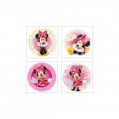 Decoração de bolo obreia de Aniversario Minnie Mouse Sortido