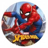 Decoração de bolo obreia de Aniversario Spiderman