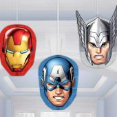 Decoração Favo de Mel Avengers