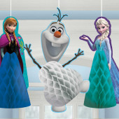 Decoraçao Favo de Mel Frozen