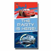 Decoração porta festa Cars 2