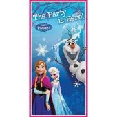 Decoração porta festa Frozen