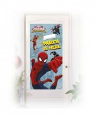 Decoração Porta Spiderman