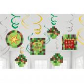 Decorações Espirais Minecraft