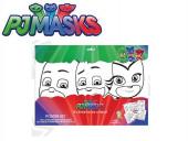 Desenhos Colorir + Marcadores PJ Masks
