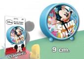 Despertador redondo 9cm de Mickey Mouse