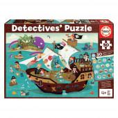 Detetive Puzzle 50 peças Barco