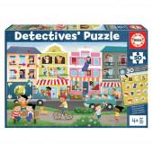 Detetive Puzzle 50 peças Cidade