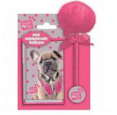 Diário c/ caneta Fluffy Dog de Studio Pets