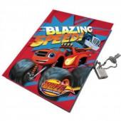 Diario Cadeado Blaze and The Monster Machine
