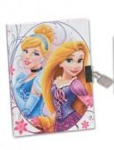 Diario Princesas Disney com cadeado