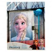 Diário Secreto Lantejoulas Frozen 2
