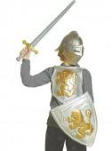 Disfarce Carnaval com Conjunto armadura medieval