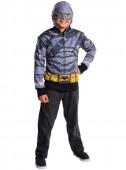 Disfarce Carnaval com Jaqueta armadura de Batman
