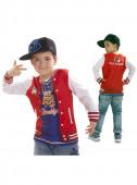 Disfarce com Camisola de rapper para menino
