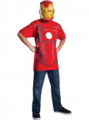 Disfarce Iron Man Homem Ferro Marvel