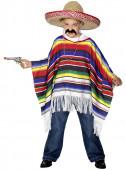 Disfarce Poncho Mexicano Criança