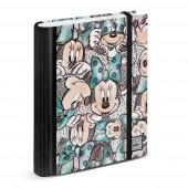 Dossier A4 com elástico Minnie - Drawing