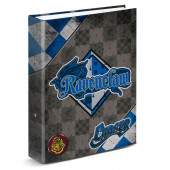 Dossier A4 Lombada Larga Harry Potter Quidditch Ravenclaw