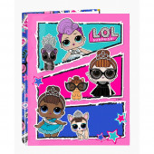 Dossier Lombada Fina A4 LOL Surprise Together