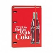 Dossier recarga A4 Coca Cola